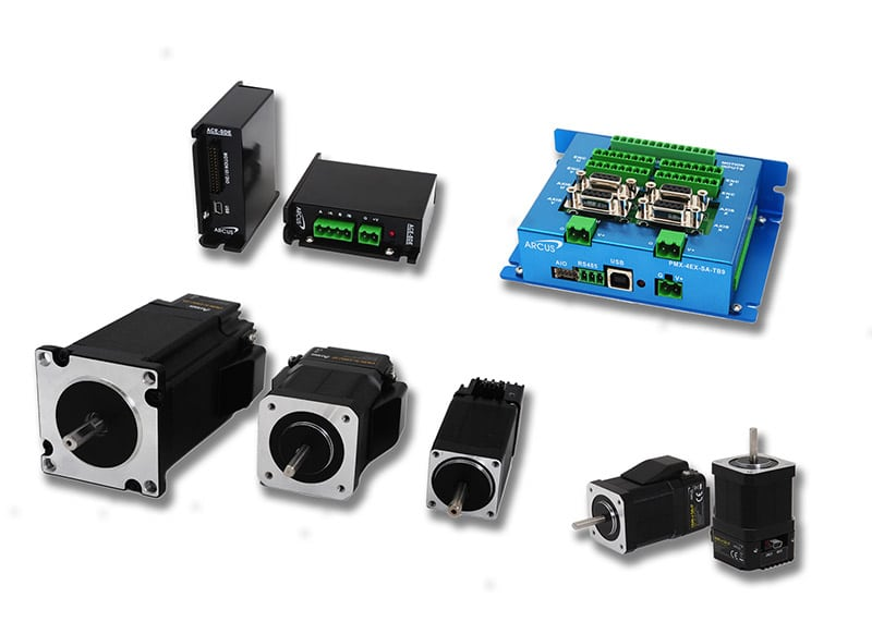 Arcus stepper motor product range