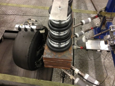 Tyre Test Rig In Action