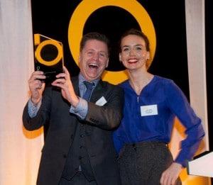 Gary receives BEEA award
