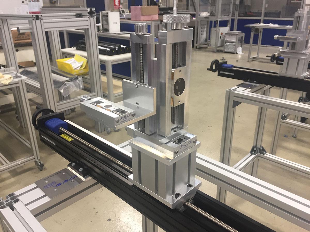 unislide conveyor checking system