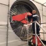 Turbofan maintenance operator