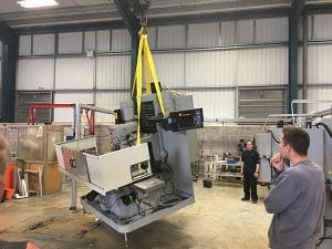 CNC Machining at LG Motion