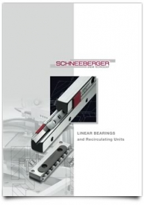 Schneeberger Linear Recirculating Bearings