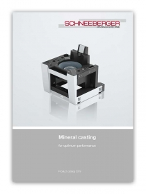 Schneeberger Mineral Casting Product Catalogue