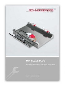 Schneeberger Miniscale Plus Mounting Instructions