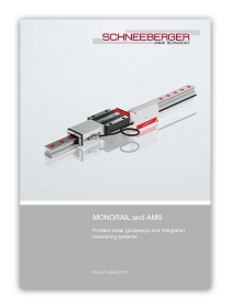 Schneeberger MONORIAL and AMS Product Catalogue