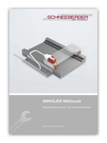 Schneeberger MSQscale Mounting Instructions