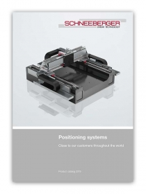 Schneeberger Systems Product Catalogue