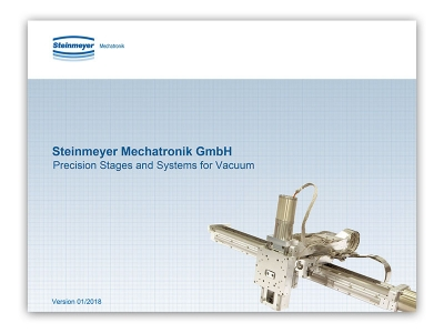 Steinmeyer Mechatronik Precision Stages and Systems for Vacuum